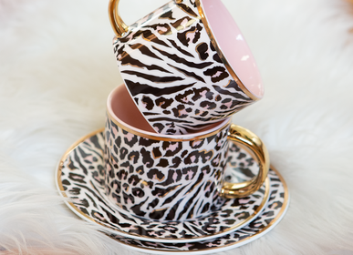 Mugs - Safari Leopard - Teacup & Saucer - CRISTINA RE
