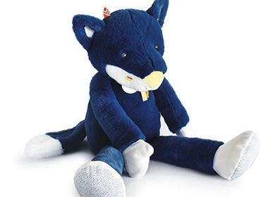 Soft toy - TIWIPI WOLF - Doll 60 cm - DOUDOU ET COMPAGNIE