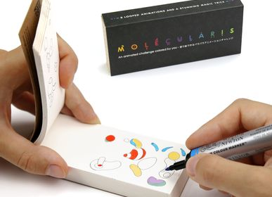 Creative Hobbies - Molecularis Coloring Flipbook - FLIPBOKU
