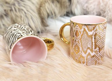 Tea / coffee accessories - Safari Snakeskin Mug - CRISTINA RE