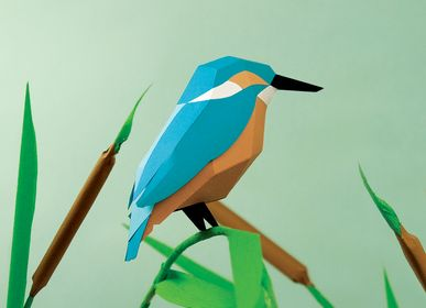 Design objects - Paper craft - Alcedo Atthis - PLEGO