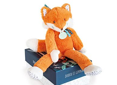 Soft toy - TIWIPI Fox - Doll 30cm - DOUDOU ET COMPAGNIE