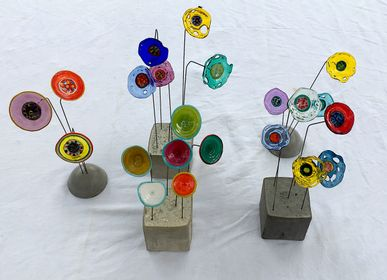 Decorative objects - Glass flowers - SILICE CREATION