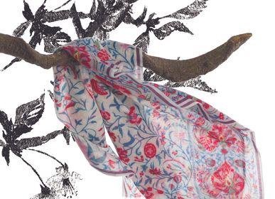 Foulards / écharpes - ETOLE IMPRIMEE sur étamine de laine - SUPPLEMENT D'AM / ÉTOLES ET SACS