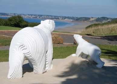 "Sculpture - The Bear ""Tribute to Pompon"" - MICHEL AUDIARD"