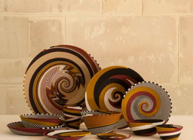 Objets de décoration - Bols Zoulou, Dorothy, Afrique du Sud - AS'ART A SENSE OF CRAFTS