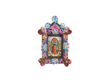 Décoration murale - Cadre Spécial Fleur Guadalupe - PINK PAMPAS