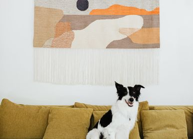 Contemporary - SUN #27 handwoven kilim wall hanging - TARTARUGA