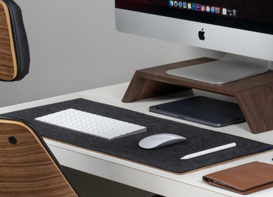 Design objects - Felt and cork office desk mat - OAKYWOOD