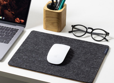 Organizer - Felt and Cork MousePad - OAKYWOOD