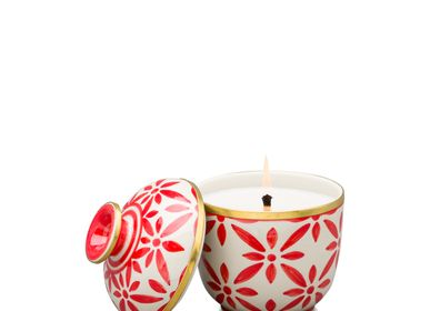 Hotel rooms - Handmade Ceramic Scented Candle for Christmas - THANIYA