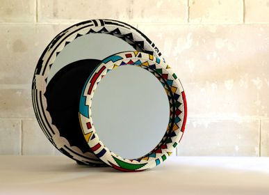 Miroirs - Miroirs Ndebele, Afrique du Sud - AS'ART A SENSE OF CRAFTS