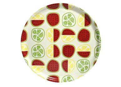 Plateaux - Fruits à salade plateaux et les dessous de verre - ATIYA TRAYS
