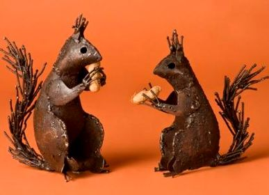 Decorative accessories - RECYCLED METAL ANIMALS - TERRE SAUVAGE