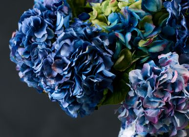 Floral decoration - Mix of real touch hydrangeas - Silk-ka Artificial flowers and plants for life! - SILK-KA
