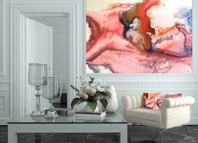 "Other wall decoration - ""Wave"" series wallpaper - H'AUTEUR D'ENCRES"