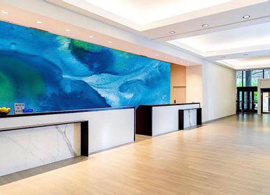 Autres décorations murales - PAPIER PEINT série «Source» - H'AUTEUR D'ENCRES