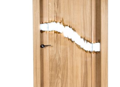 Wall ensembles - Interior door Wood and Resin - MEUBLES THOURET