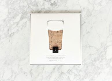 Tasses et mugs - Fourreau Liège Naturel & Argent, pour Cupalors 400ml/14oz - CUPALORS