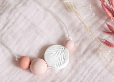 Childcare - Palm Sunrise Rose | Baby carrier, breastfeeding and Teething Necklace - MINTYWENDY