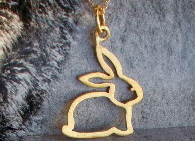 Bijoux - Bracelet Lapin outline - BYNEBULINE
