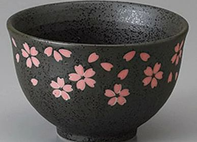 Bowls - Rice bowls, soup bowls, with or without ceramic lid, made in Japan - SHIROTSUKI / AKAZUKI JAPON