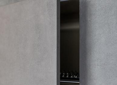 Aménagement de cuisine - Micro Concrete facades - PLY