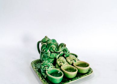 Ceramic - Thaniya Emerald Elephant Tea Set Pot - THANIYA