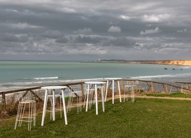 Lawn chairs - MENORCA Stool - ISIMAR