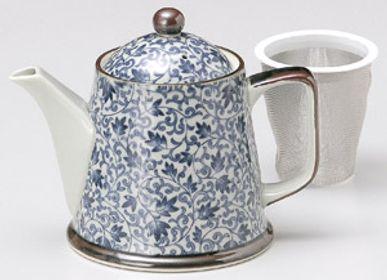 Accessoires thé / café - Théières en céramique fabriquées au Japon - SHIROTSUKI / AKAZUKI JAPON