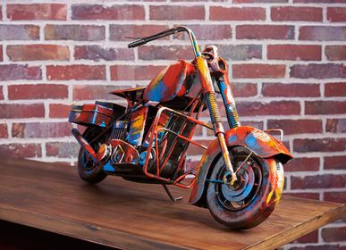 Sculpture - Moto chopper PIGMENT collection - SOCADIS