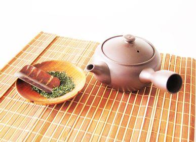 Accessoires thé / café - Théières Kyusu japonaises - SHIROTSUKI / AKAZUKI JAPON