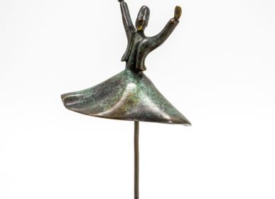 Sculpture - Dancing Towards Peace - GALERIE JACQUES OUAISS