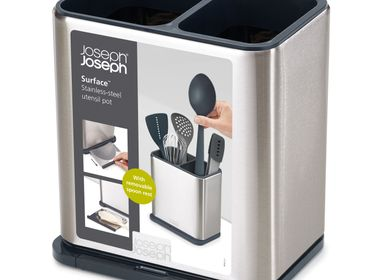 Kitchen Furniture - Surface Utensils and Knives - Stainless Steel - JOSEPH JOSEPH