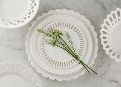 Ceramic - Bourg-Joly Pleine Plate - BOURG-JOLY MALICORNE