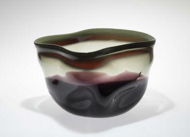 Art glass - MYSTIC Art Glass Object Vase Bowl  - ALEXA LIXFELD