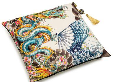 Fabric cushions - Cushions, Tatoo-age - PALAIS ROYAL