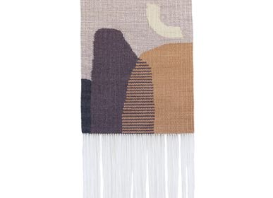 Contemporary - MOON #1 handwoven kilim wall hanging - TARTARUGA