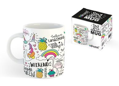 Mugs - Unicorn Ceramic Mug - XL1834 - I-TOTAL