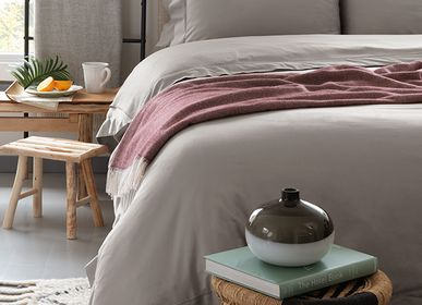 Bed linens - Sensitive Zinc Duvet Cover Set - MARIALMA