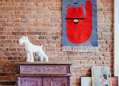 Contemporary - VAMOS handmade kilim rug - TARTARUGA