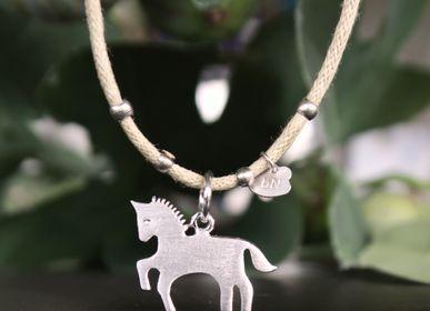 Gift design - Unicorn / horse Flat bracelet byNebuline - BYNEBULINE
