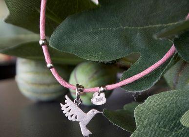 Jewelry - Flat humming-bird necklace - BYNEBULINE