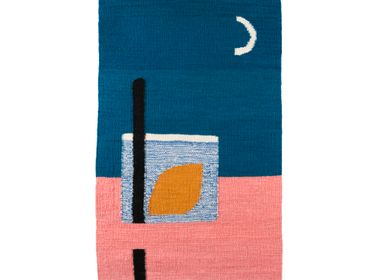 Contemporain - Tapis Kilim fait main MOONLIGHT - TARTARUGA