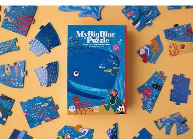 Toys - MY BIG BLUE PUZZLE - LONDJI