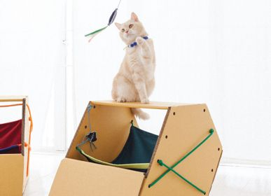 Pet accessories - PRISM VIOLET HAMMOCK - KAFBO