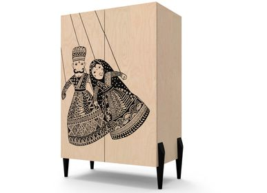 Storage box - Print Collection Cabinets - KNOCK ON WOOD