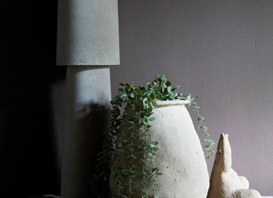 Table lamps - LAFLIN LAMP - TAUPE - ABIGAIL AHERN