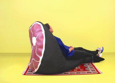 Fabric cushions - Pata Negra Bean Bag - AUFSCHNITT