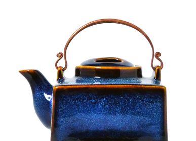 Céramique - Théières Bleu Océan - ZAOZAM